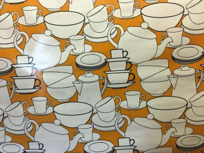 Crockery PVC Orange G46