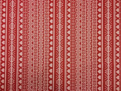 Fairisle Red PVC G47