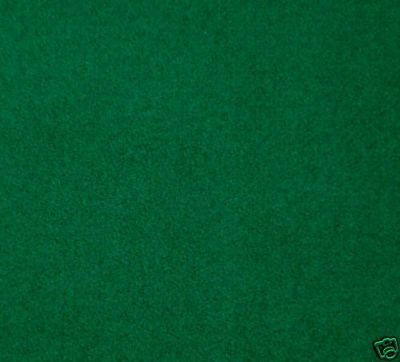 Green Baize Felt Fabric