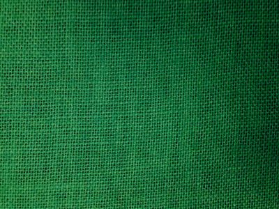 Bright Green Hessian Fabric