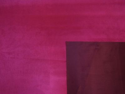Reversible Two Coloured Faux Suede Fuchsia H134