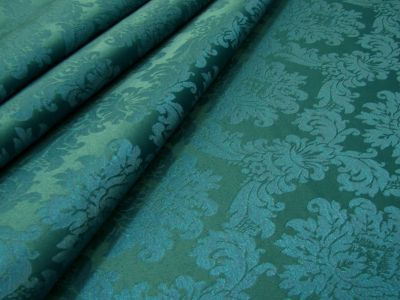 French Damask Teal H184