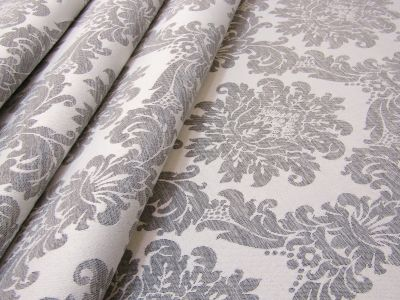French Damask Grey H188