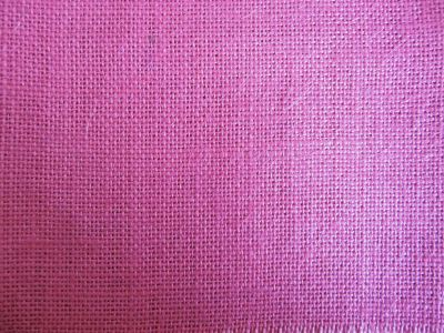 Dusky Pink Hessian Fabric