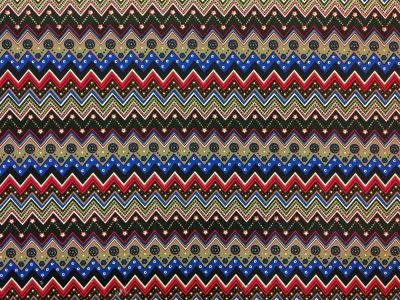 Zig Zag Needlecord Multi I116