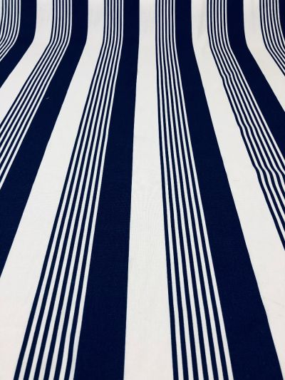 Barcode Stripe Royal Blue i199