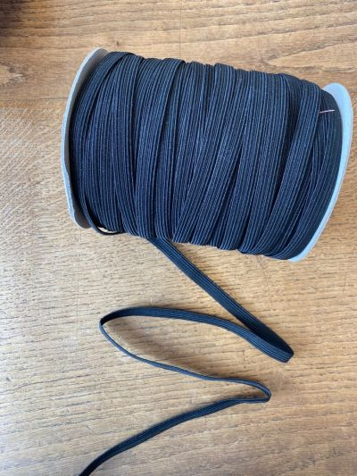 10mm Black Elastic Stretch Trim Cord Haberdashery