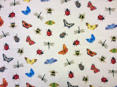 Tex Ex Original Insects Swarm Multi Linen
