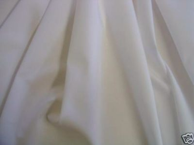 Extra Wide Sheeting Fabric Ivory