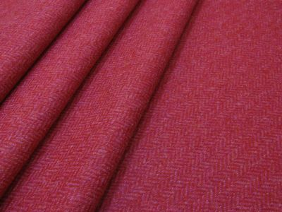 Moon Keighley Herringbone Raspberry