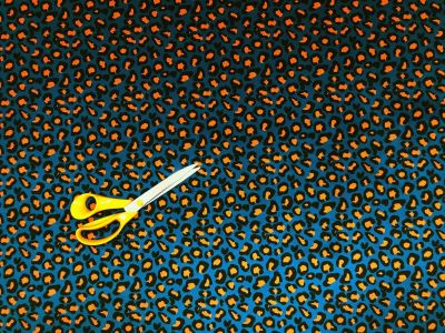 Tex Ex Original Leopard Velvet Jade Orange 2030