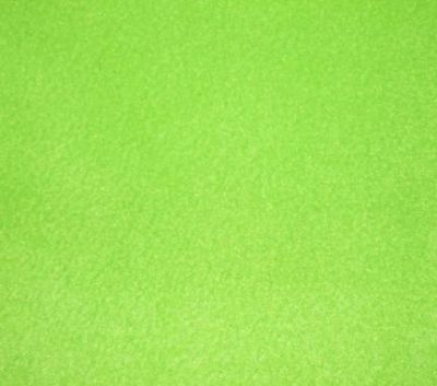 Lime Green Polar Fleece Fabric ES012