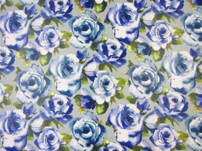Voyage Martha Bluebell Oilcloth
