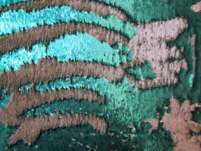 Two Way Mermaid Sequin Aqua Pearl I41