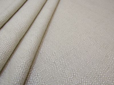 Natural Basket Weave Linen Ivory S9