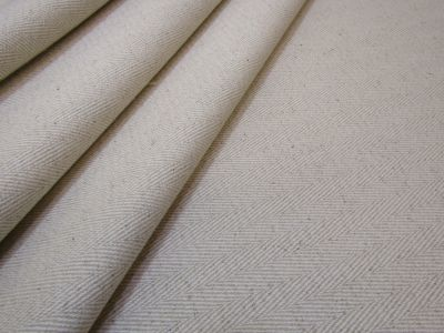 Natural Weave Herringbone Natural Cream S11