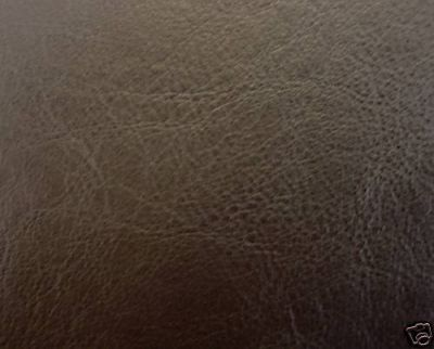 Brown Leatherette Fabric