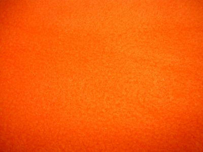 Orange Polar Fleece Fabric ES012
