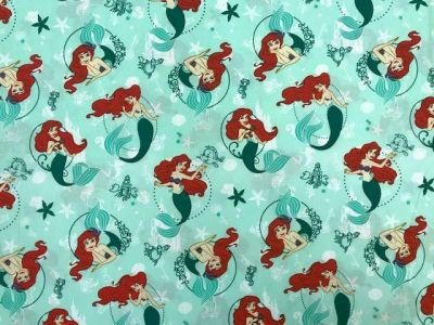 Little Mermaid Blue Multi P22
