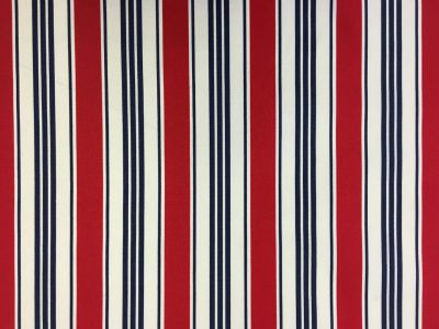 Pavillion Stripe PU Coated Red C171