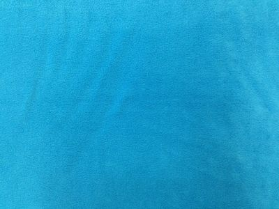 Turquoise Polar Fleece Fabric