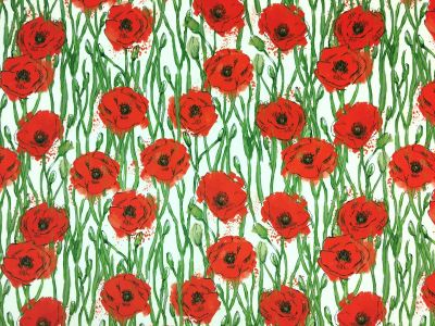 Tex Ex Original Poppy Fields Velvet