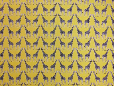 Giraffe Tapestry Yellow R1