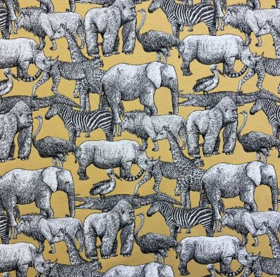 Africa Tapestry Yellow R29