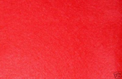 Red Wool Mix Felt Fabric ES007