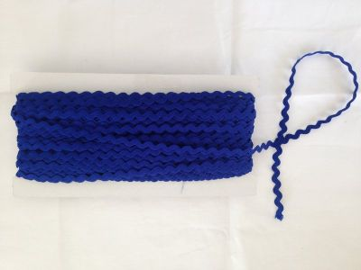 Small Royal Blue Ric Rac