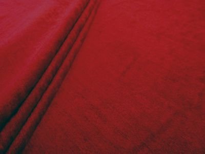 Ruby Moss Chenille Red Tex Ex 1701