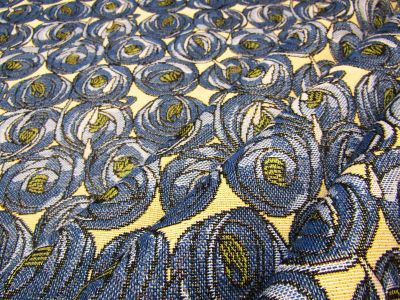 Lotus Bloom Tapestry Blue S35