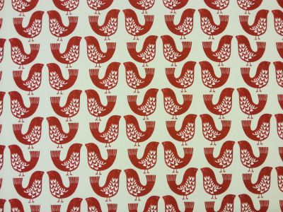 Scandi Birds Scarlet