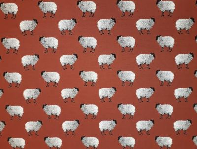 Sheep Tapestry Russett R11