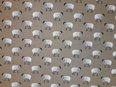 Sheep Tapestry Taupe R10