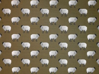 Sheep Tapestry Olive R12