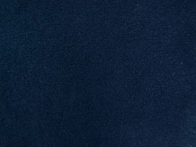Plain Sherpa Fleece Navy A1296