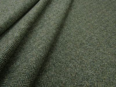 Moon Skye Basket Weave Wool Green