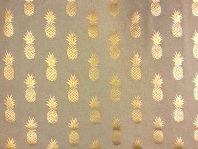 Golden Pineapple Linen T101