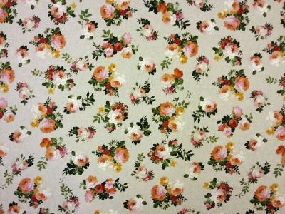 Valerie Small Floral Linen T123