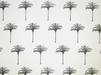 Monochrome Palms Black White T258