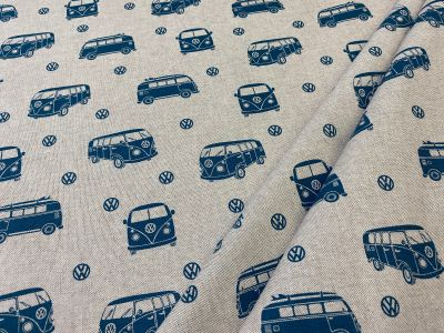 Happy Campers Teal Linen T314