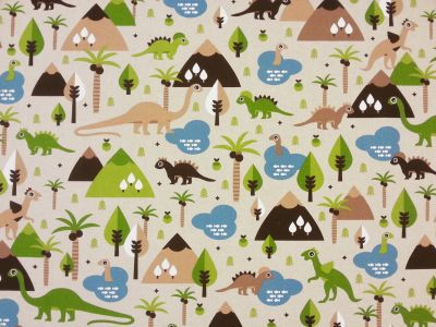 Happy Dinosaurs Linen T40