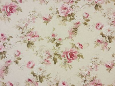 English Rose Double Width Linen T247