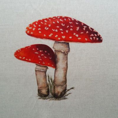 Toadstool Cushion Panel