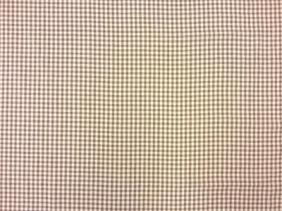 Little Gingham Linen Beige Tex Ex 1301
