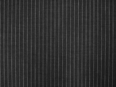 Chalk Stripe Stretch Suiting Charcoal Tex Ex 1432
