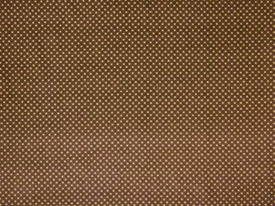 Polka Dot Medium Corduroy Brown Tex Ex 1545