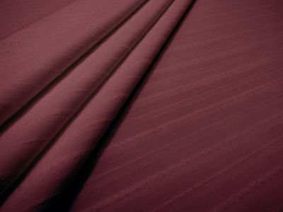 Pin Stripe Lycra Wine Tex Ex 1557