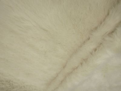 Luxury Polar Bear Faux Fur Ivory Tex Ex 1745